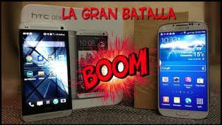 Galaxy S4 VS HTC One And The Winner Is!!!!!