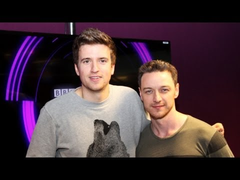 James McAvoy talks about punching Hugh Jackman