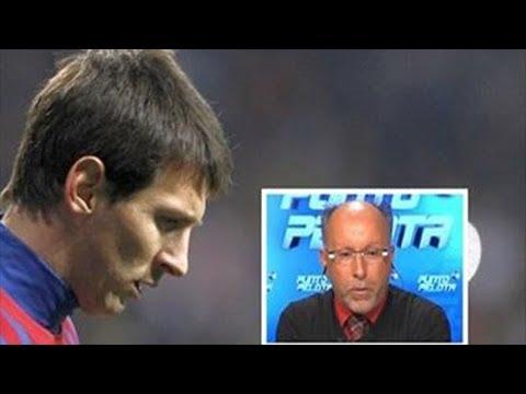 Messi se irá del Barcelona el próximo verano François Gallardo