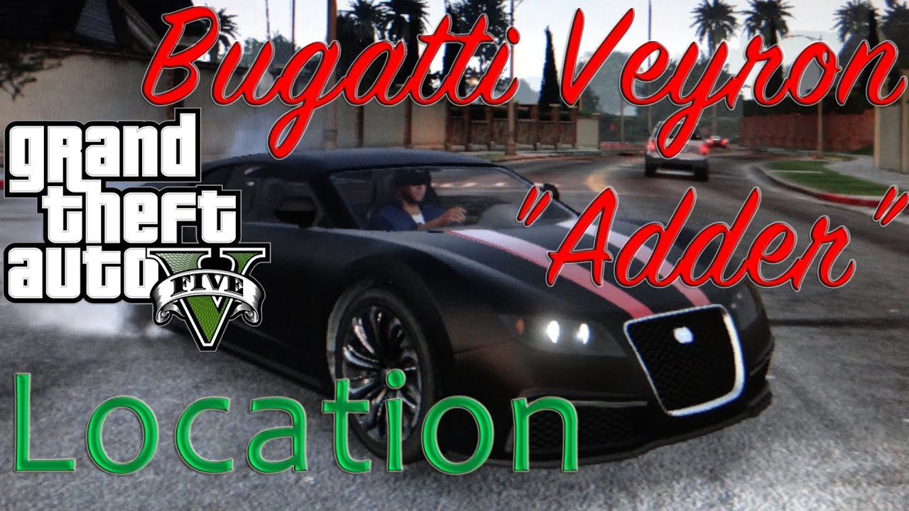 bugatti veyron gta 5 location gta 5 bugatti veyron. Black Bedroom Furniture Sets. Home Design Ideas