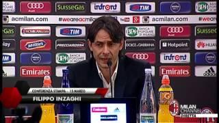 "Inzaghi: ""Serve una grande gara"" | AC Milan Official"