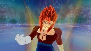 SSJ4 Vegito VS Gogeta Super Saiyan 4 (Dragon Ball Z