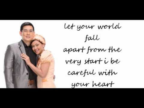 Jodi Sta Maria & Richard Yap Be Careful With My Heart Lyrics