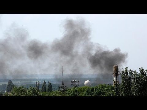 Kyiv launches anti-terrorist operation in Donetsk airport as rebels take control of...