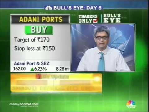 Bull's eye: Buy JM Financial, Adani Ports, Sun TV, Emami
