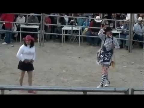 Payasos de Rodeo en Acción en Balcones del Sur Puebla, Puebla. 2012