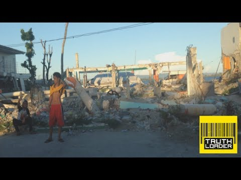 A drive through Tacloban - six months on from Typhoon Haiyan - Truthloader