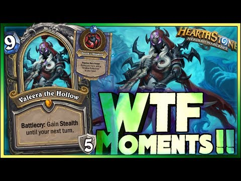 Hearthstone   Frozen Throne WTF Moments 9   Funny and lucky Rng Moments