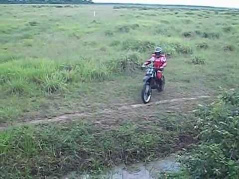 TRILHA DE MOTO-XLR 125 TEIMOSA