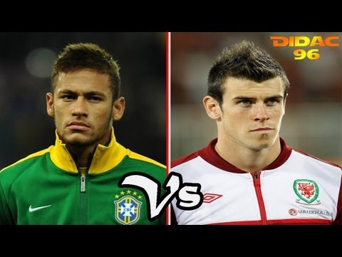 Gareth Bale Vs Neymar Junior Goles & Regates 2013 HD