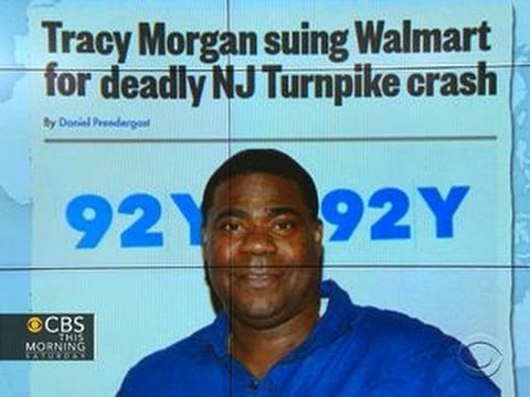 Headlines: Tracy Morgan suing Walmart for NJ Turnpike crash