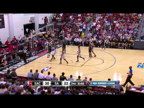 NBA Summer League: Sacramento Kings vs San Antonio Spurs