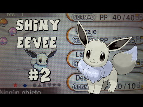 [LIVE!] Shiny Eevee #2 627 Huevos Pokemon X Masuda Method