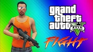 GTA 5 Online Funny Moments Gameplay Epic Fight