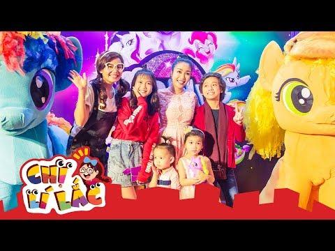 CHỊ LÍ LẮC | Đi công chiếu phim Pony Bé Nhỏ cùng Gia Khiêm và Bảo An