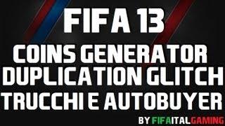 FIFA 13 Ultimate Team Trucchi| Fifa 13 Glitch
