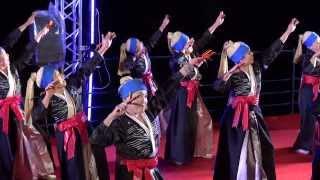 よさこい東海道2013【沼津市長賞】日専連ぬまづ鳴子隊