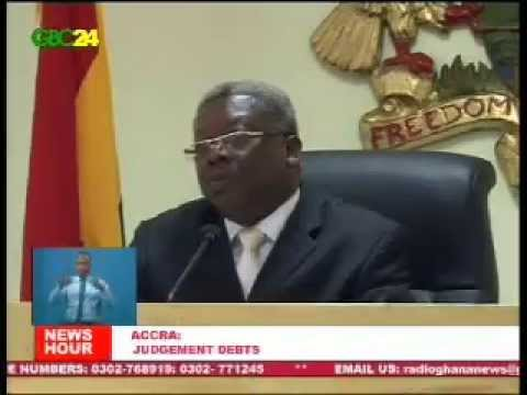 Judgement Debt Commission Sitting - 7/4/2014
