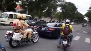 Dàn Maserati bị cảnh sát giao thông xử phạt!!!