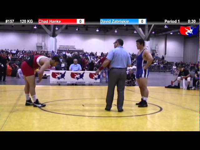 FS Qualifier 120kg: Chad Hanke vs. David Zabriskie Final