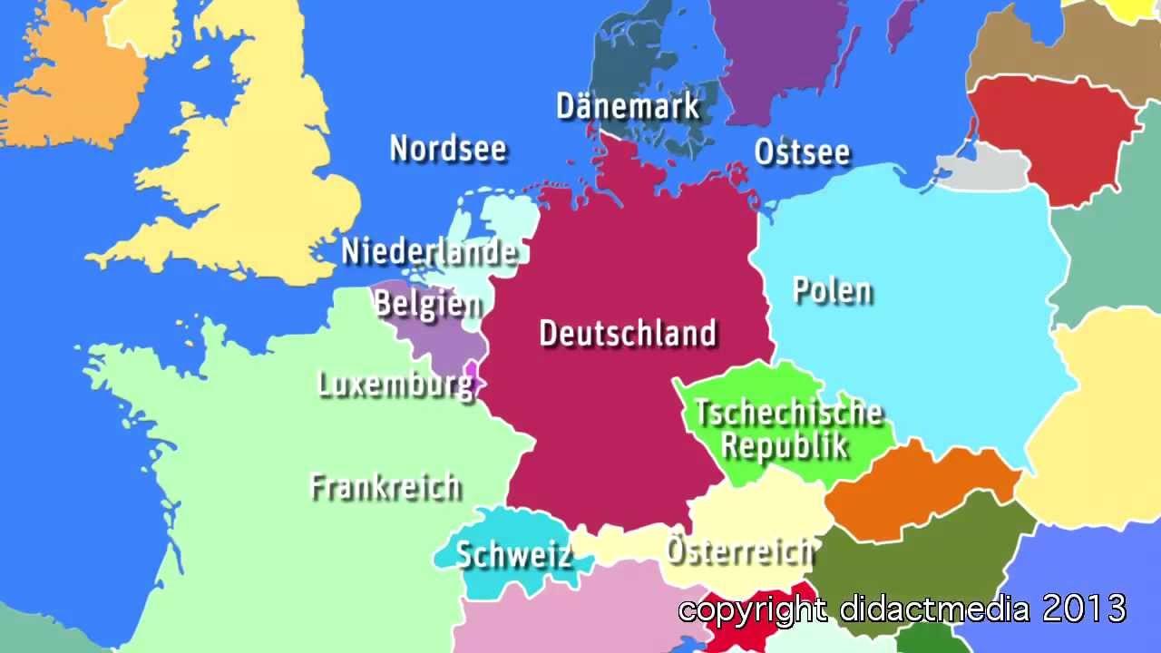 europa im berblick der westen deutschland viele nachbarn gro e st dte youtube. Black Bedroom Furniture Sets. Home Design Ideas