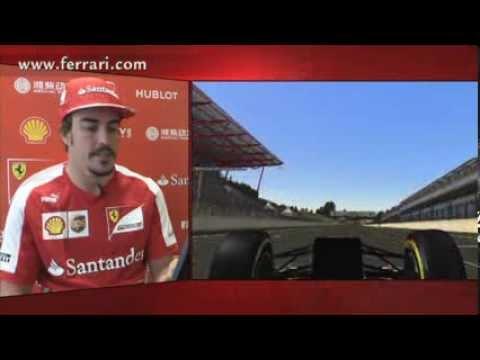 Alonso narra pista de Spa-Francorchamps - Tazio - www.tazio.com.br