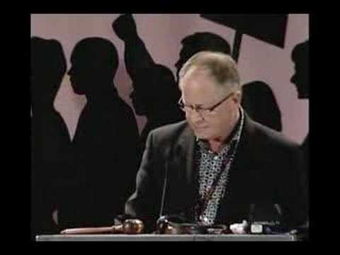 2 of 4 video - Sid Ryan speaks at CUPE Ont. Convention 2008