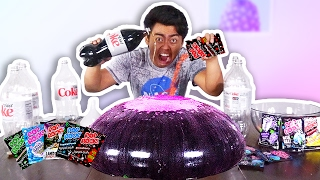 WUBBLE BUBBLE DIET COKE POP ROCKS EXPERIMENT!