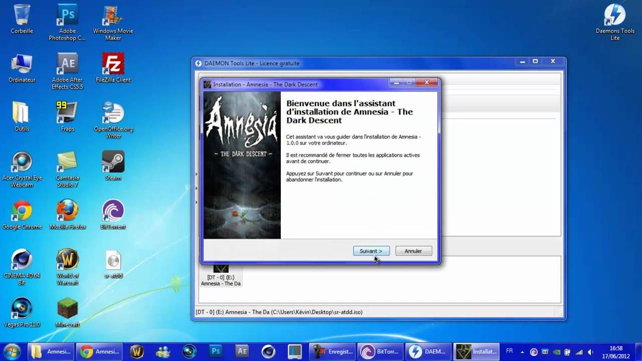 Tuto - Télécharger Amnésia The Dark Descent Gratuitement ...