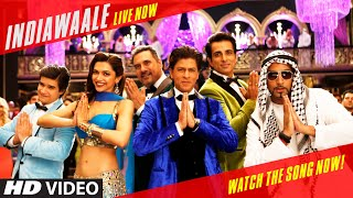 OFFICIAL: 'India Waale' Video Song - Happy New Year | Shahrukh Khan, Deepika Padukone