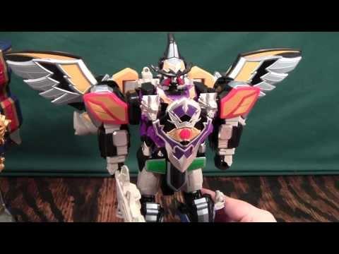 Mahou Sentai Magiranger Wolkaiser Review / Power Rangers Mystic Force Centaurus Wolf Megazord Review