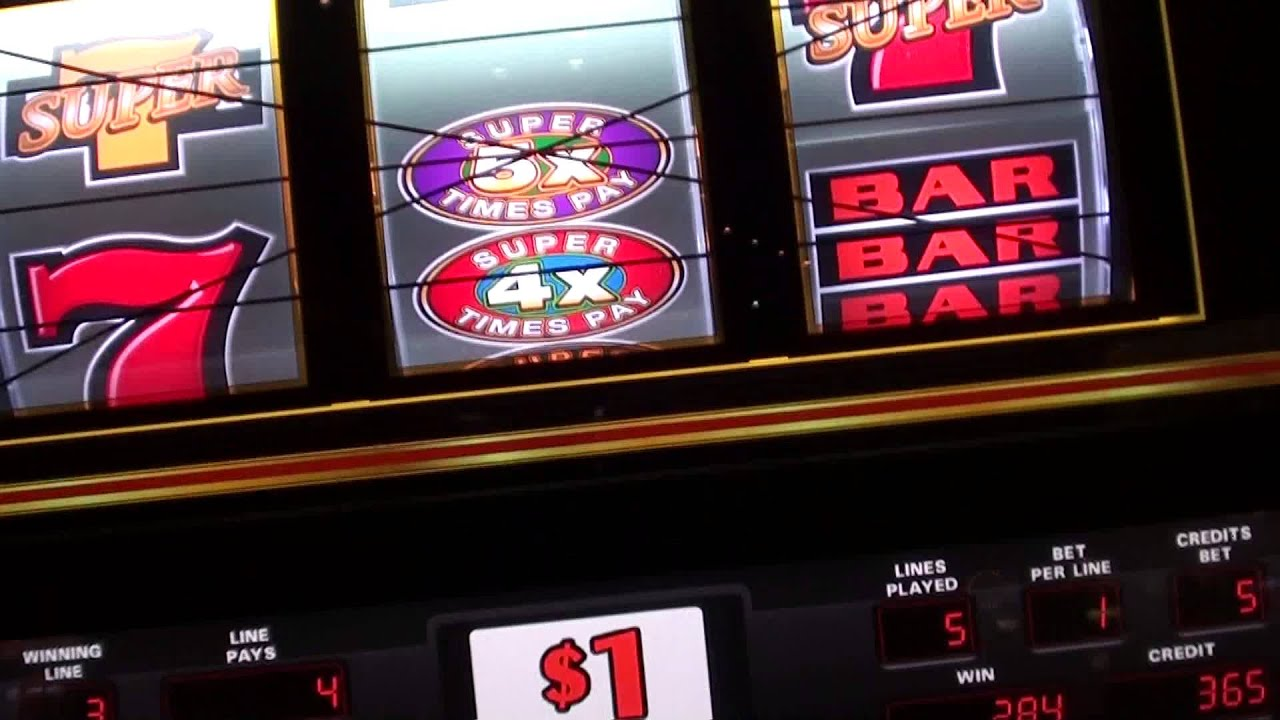 Super Times Pay Slot Machine In The Aria Casino Las Vegas