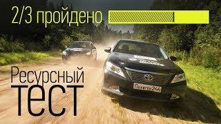 Старая Toyota Camry vs новый Hyundai Solaris: тест на надежность. Часть вторая. Тесты АвтоРЕВЮ.
