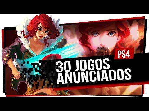 Os 30 jogos de PS4