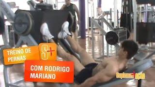 Rodrigo Mariano - Treino de Pernas