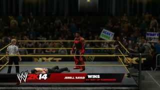 My WWE 2K14 Universe Mode - NXT Episode 4 - Gold Rush Semi Finals!