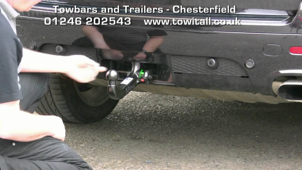 Towbar Video Vw Touareg Westfalia Detachable Youtube