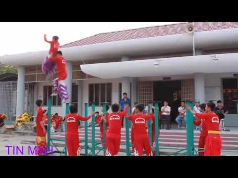 Múa Lân Trung Thu 2016 - Múa Lân Sư Rồng - Lion dance