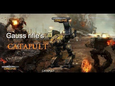 Mechwarrior online на catapult e с алиной и ко ко ко