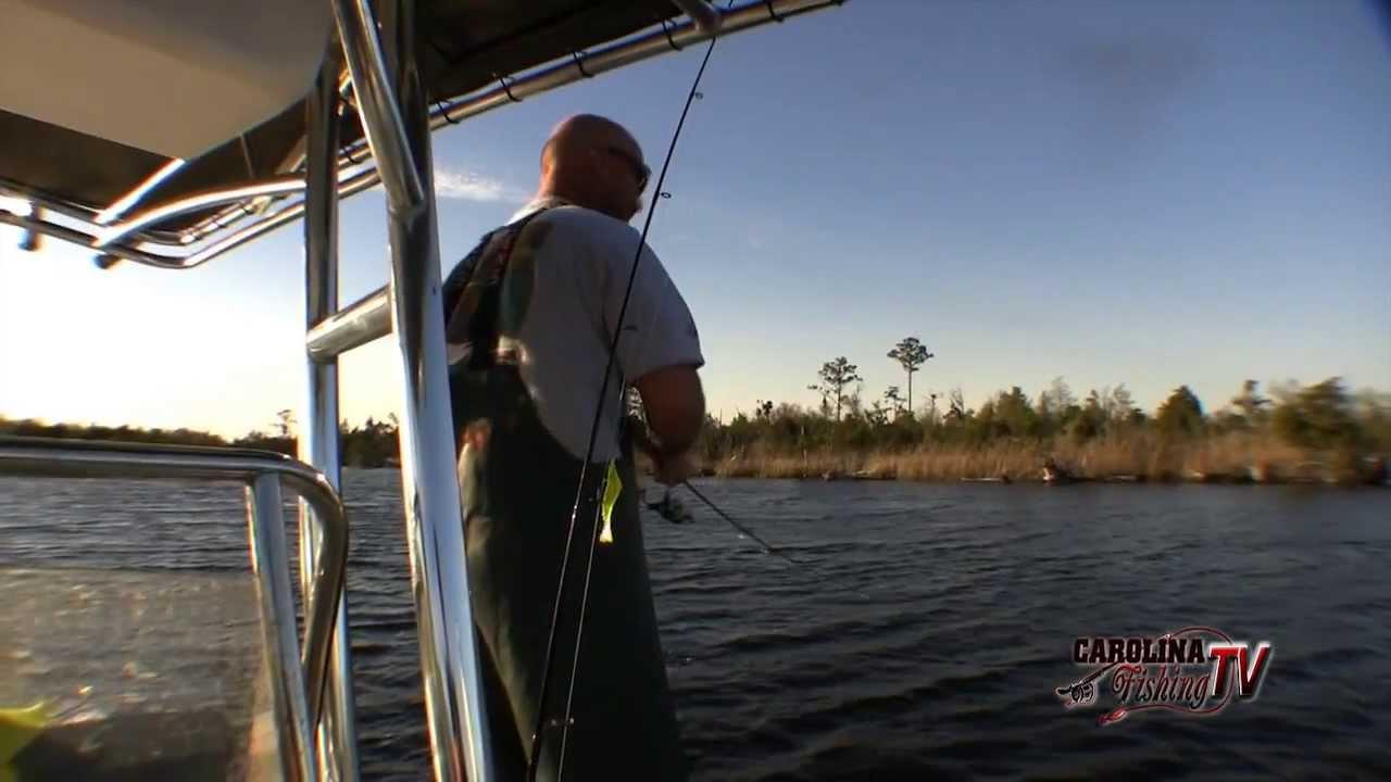 for Carolina fishing tv