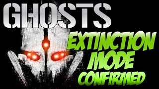 "Call of Duty: Ghosts ""ALIEN EXTINCTION MODE"" Leaked & Confirmed! (Cod Ghosts Extinction Mode)"