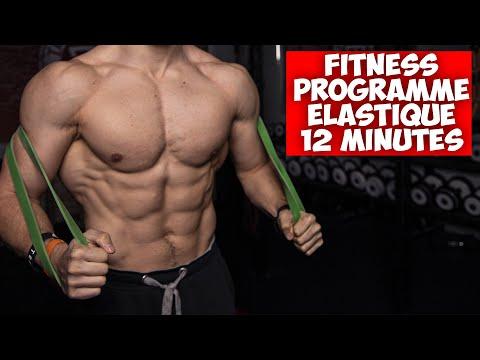 12min programme fitness complet avec élastique !