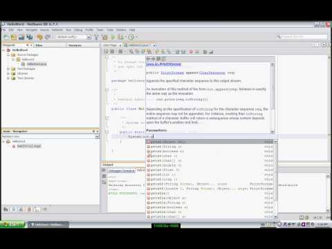 NetBeans- How to bulid simple java application using netbeans ide
