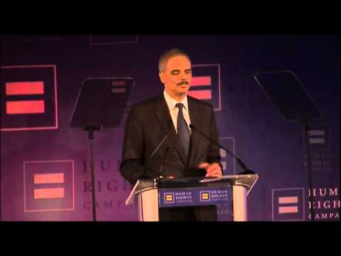 Holder Applies Gay Marriage Ruling to Justice