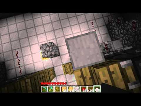 Minecraft 1.7 - делаем лифт