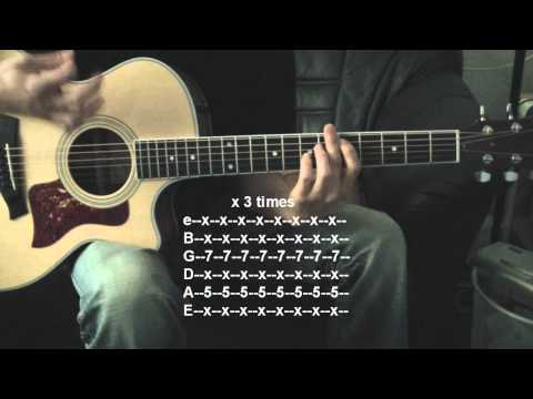How to play Ignorance by Paramore acoustic Rhythm