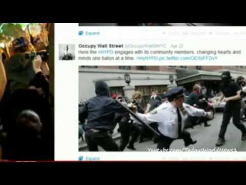 New York Police Department's myNYPD twitter fail