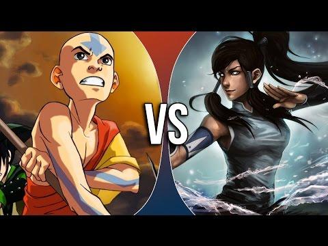 Versus Series | Aang vs Korra