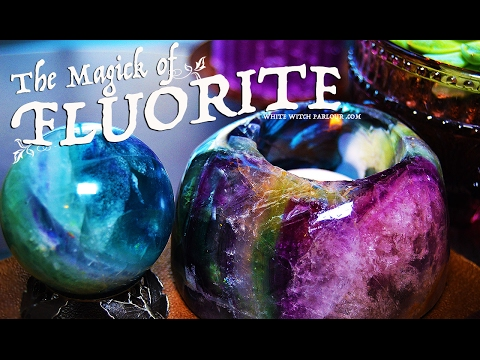 The Magick of Fluorite Crystals ~ The White Witch Parlour