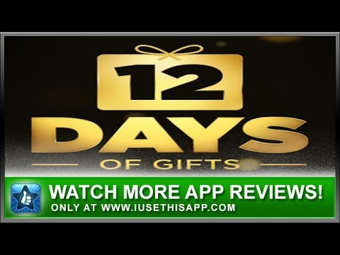 12 Days Of Gifts App Review - Christmas Apps - App Reviews